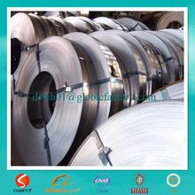 cold rolled or galvanized hardened and tempered steel strips and coils