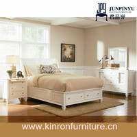2015 Hot Sale Classic White Color Wooden JPY-Yvo 040601 Hotel Bedroom Furniture