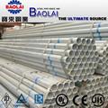Bs 1387 gr. B galvanizado de tubos de acero