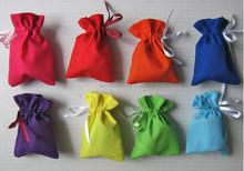 wholesale custom velvet drawstring pouch bag