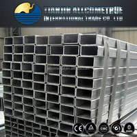 BS1387 / ASTM A53 Rectangular Galvanized square pipe tube square and rectangular steel pipe tube full dimension