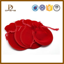 BSCI factory custom original quality jewelry gift bag/jewelry bag with double drawstring