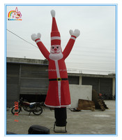 Factory price inflatable air dancer for advertising,cheap inflatable santa claus air dancer for sale