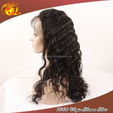 Factory direct sale human hair silicone wig