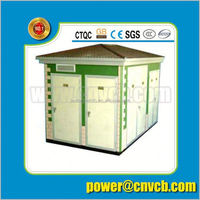 YB Series Prefabricated 110kv substation used electrical substation 6kv