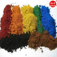 different colors iron oxide pigment/colorant/paint