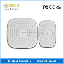 New Release | FORRINX CE/FCC/ROHS approval AC 110~220V audio wireless doorbell 52 songs digital wifi doorbell