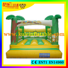 Kule great attrection inflatable jungle bouncer for sale/cheap inflatable bouncers for sale