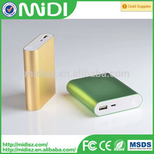 2015 new products Emergency universal portable powerbank 10400mah for xiaomi