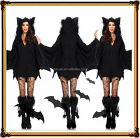 Halloween fashion party Female batman dress uniform