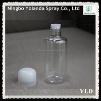 Plastic Round Bottom Cosmetic Bottle 100ml