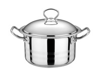 SZB- 1012 Food Grade Stainless Steel Large edge intensification ear soup pot/sauce pot/china suppliercomposite bottom