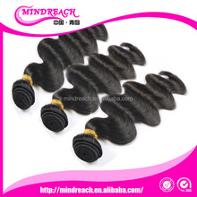top quality human hair from China human hair factory, wholesale 6A body wave malaysian hair bundles