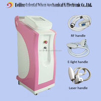Beijing manufacturer 3 in 1nd yag laser e light RF ipl photorejuvenation machine