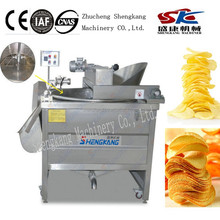 SKD potato chips automatic electric heating frying machine company