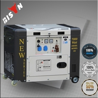 BISON(CHINA) soundproof electric generator 5 kva