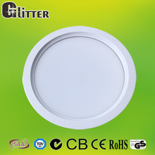 10-30W WW PW CW colors in one fitting led dimmable downlight CE, SAA