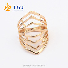 >>>> Excellent quality alloy korean style wrap multi wrist shape girl's /punk rings/