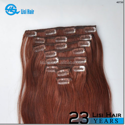 22years factory SGS&BV certified double weft virgin cheap wholesale remy 220g clip natural hair bangs