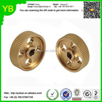 Custom Small Spur Copper Gear, Turning, CNC machining Machinery Spare Parts