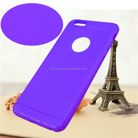 0.5mm Ultrathin High Clear 3d silicone TPU mobile phone case for iPhone 6