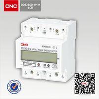 China Famous Smart Meter DDS226D-4P M electric digital power meter rs485