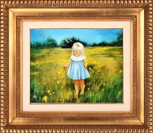 2015 NEW PRODUCT ACTIVE IMPRESSIVE KID OIL PAINTING FOR CHILDREN ROOM