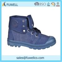 Canvas high grade cheap warm snow boots