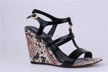 Mid High Heels Low Platform Holiday Summer Lady Wedge Sandle