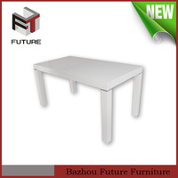 modern luxury white wash dining table