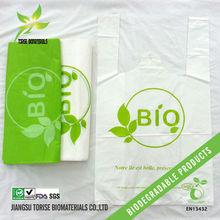 compostable plastic shopping bags printing EN13432