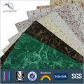 De aluminio panel compuesto de plástico, mármol acp materiales