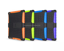 wholesale hybrid combo heavy duty holster stand pc +tpu shockproof case cover for ipad 2 3 4