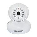 Cámara wanscam P2P IP con tarjeta SD de almacenamiento Dome Wifi de seguridad doméstica de vigilancia Pan / tilt cámara IP