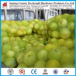 100% Food Grade Potato Onion /fruit Mesh Bag