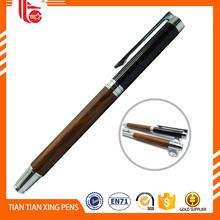 Novelty wooden ball pen