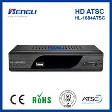 Good quality digital tv converter set top box ATSC receiver