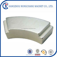 strong permanent china made high grade N35H for motor new products monopole magnet