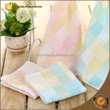 china wholesale 100% cotton cloth soft twist dots hand towl baby towel