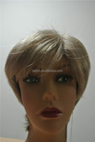Fashion Gray Mono Synthetic Hair Lace Wigs