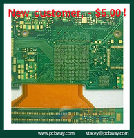 Custom fr4 94v0 8 layer pcb printed circuit board