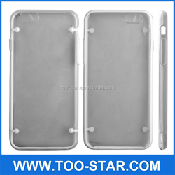 Mobile phone cases Transparent silicon Plastic ABS phone case all smart compatible brand phone case