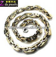China stainless steel jewelry foot chain with gold silver two tone color
