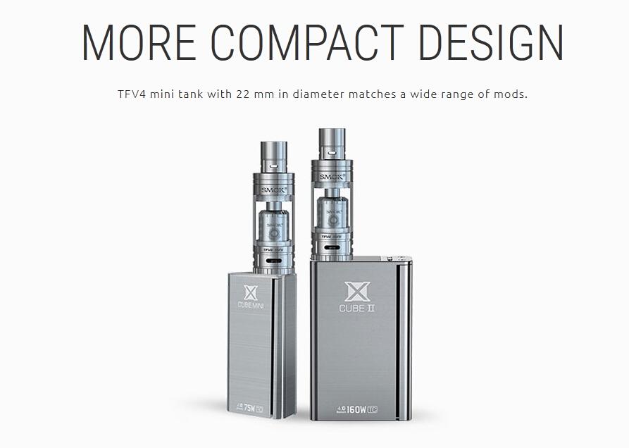 Cacuq Supply 2015 latest high quality original Smok tank Smok TFV4 mini VS subtank mini ,Subtank mini bell cap