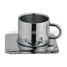 Favorable Price Stainless Steel Double Wall Beer Glass Wine Cup