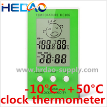 New LCD Digital Clock Indoor Weather Thermometer room digital thermometer