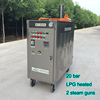 20bar LPG portable steam car cleaner, handy steam cleaner