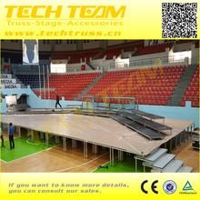 on sale aluminum Anti-slip Plywood portable stage / Mobile stage