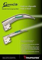GreenLite - Disposable Laryngoscope Blade
