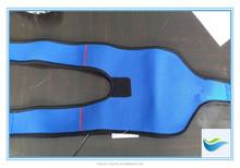 blue neoprene leg guard knee brace protection